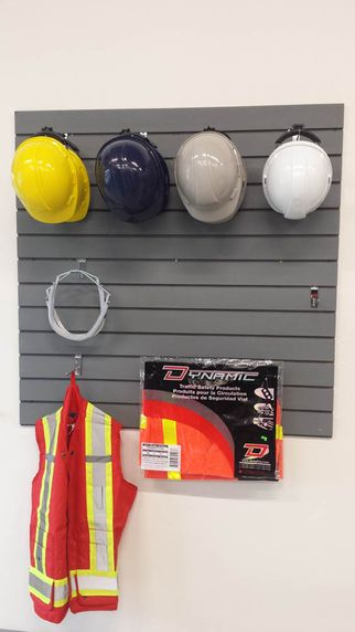 Assortment of construction/safety products